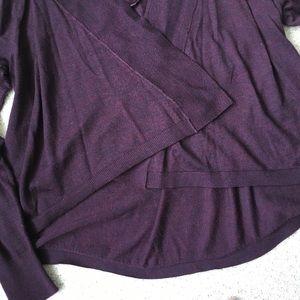 LOFT Sweaters - LOFT Plum Colored Sweater